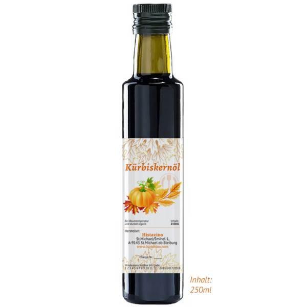 Histavinos Kürbiskernöl 250 ml – ein Naturprodukt aus Kärnten