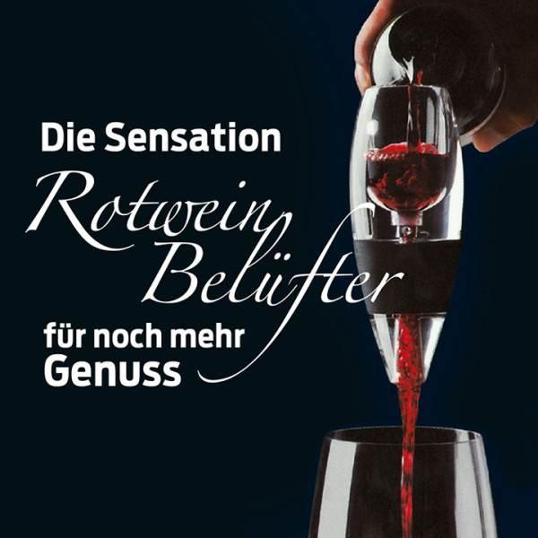 Der Rotwein Belüfter – Und Wein atmet auf