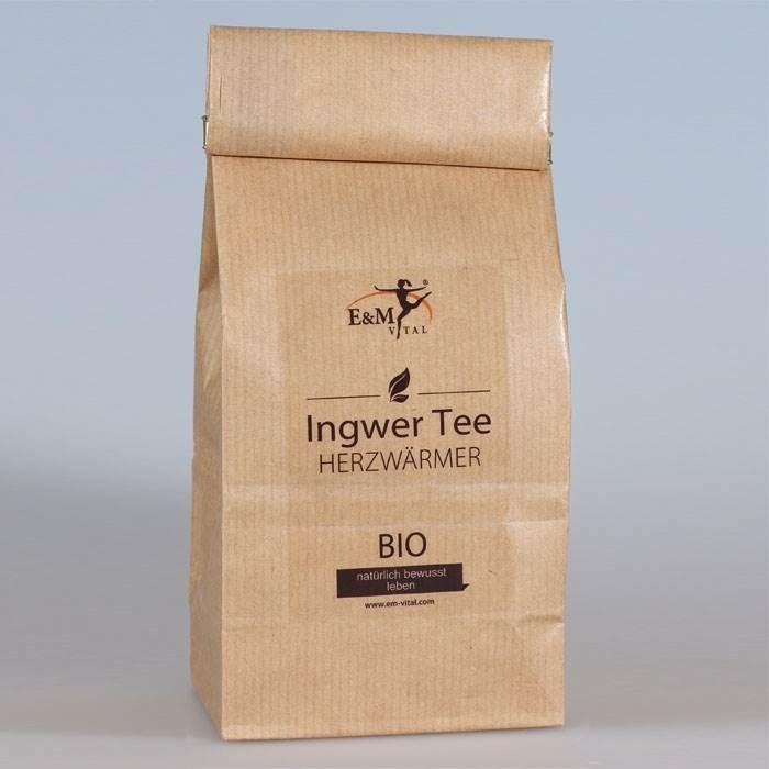 E&M Vital 'Ingwer Tee 100g – Bio Qualität'