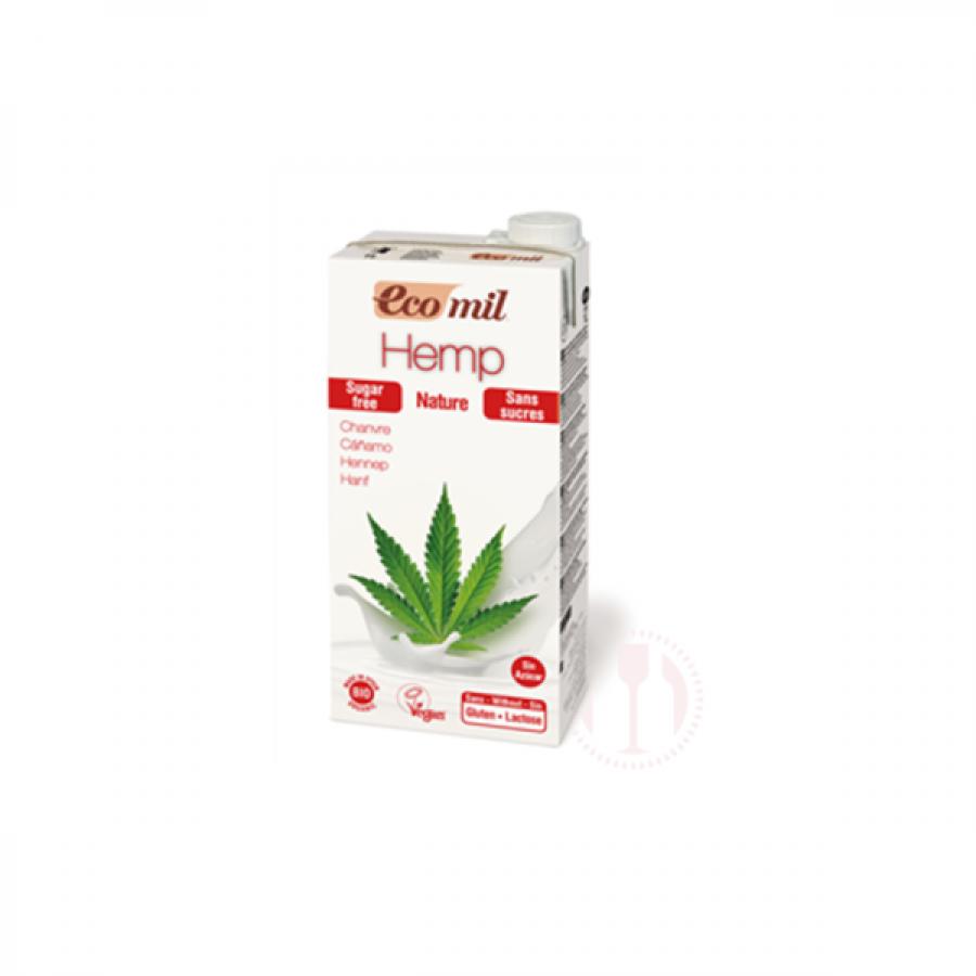 Hanfdrink zuckerfrei 1 Liter, Ecomil