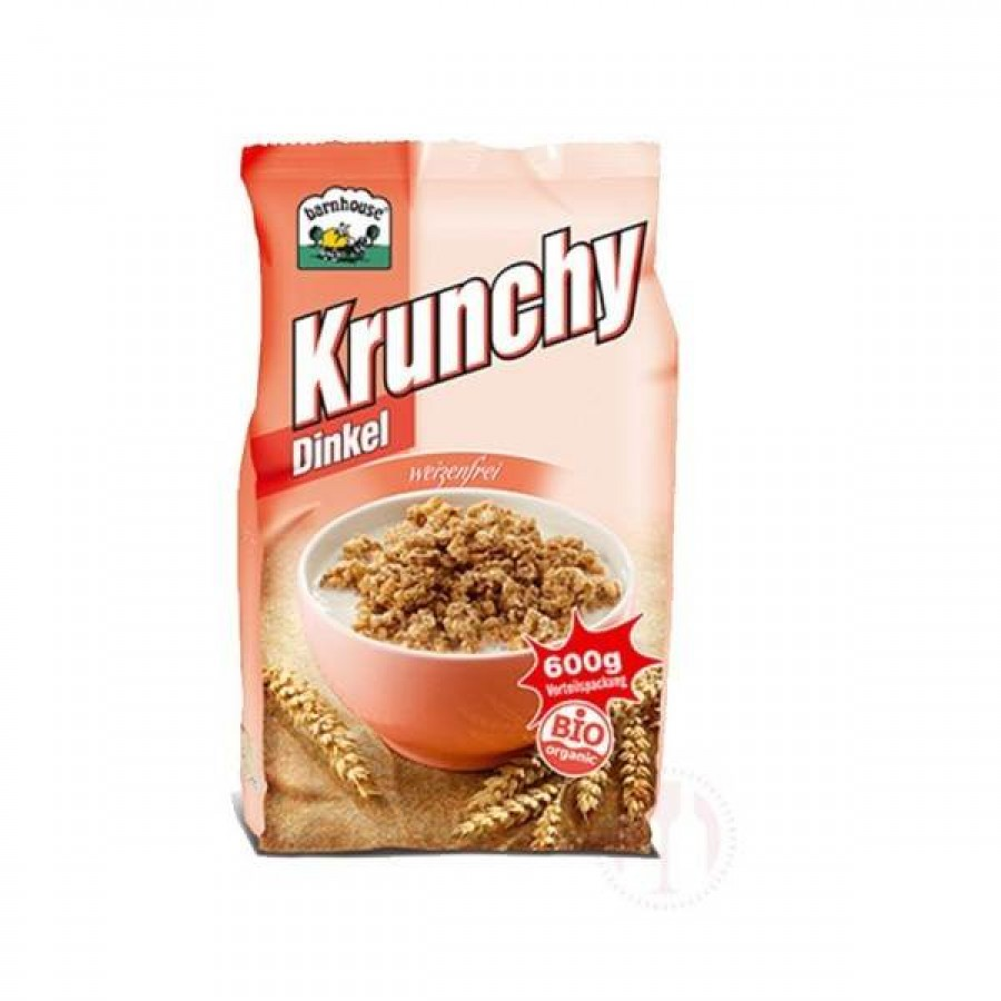 Dinkel Krunchy 600 Gramm, Barnhouse