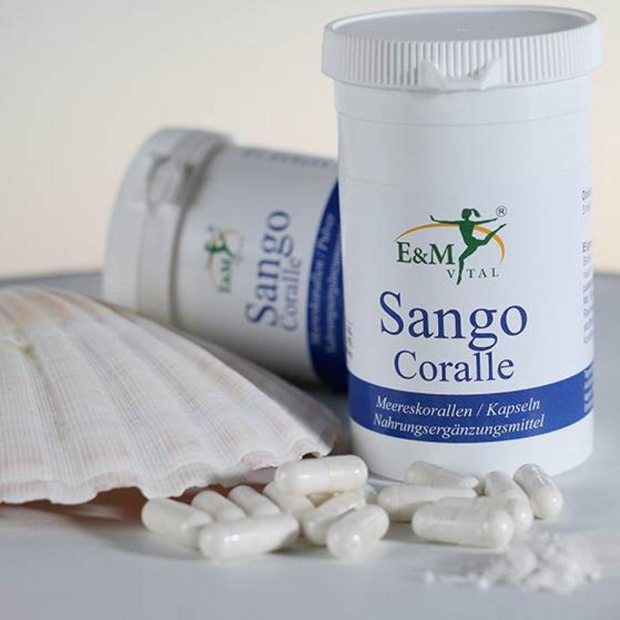 E&M Vital 'Sango Coralle'- Kapseln 180 Stück