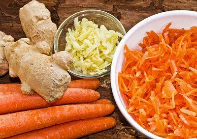 Fruchtiger Karottensalat (histaminarm)