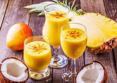 Mango Smoothie für einen frischen Start in den Tag