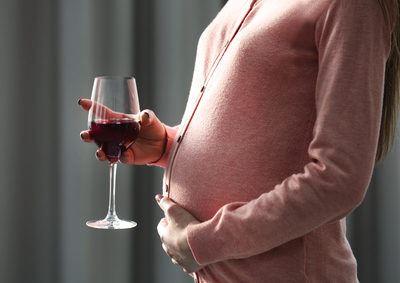 Alkoholfreier Wein in der Schwangerschaft