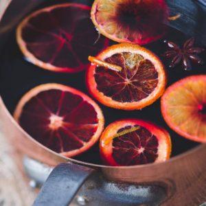 Glühwein aus histaminfreien Wein